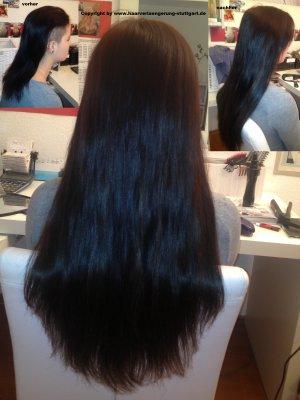 Haare verlängert