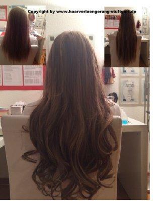 Haarverlängerungin Ombre Haarstyle