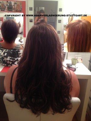 eigene Haare sehr kurz-Haare verlängern