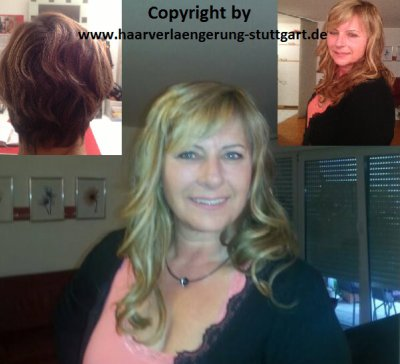 Haarverlängerung mit Haarextensions