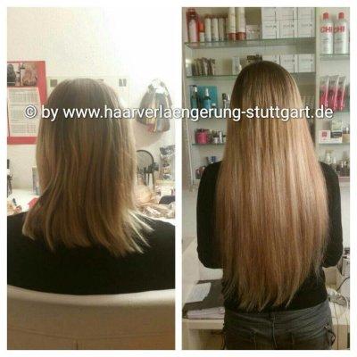 Haarverdichtung und Haarverlängerung Stuttgart