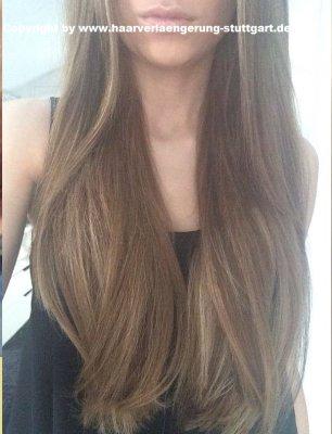 hierein Beispiel Haarverlängerung mit Srähnen Effekten