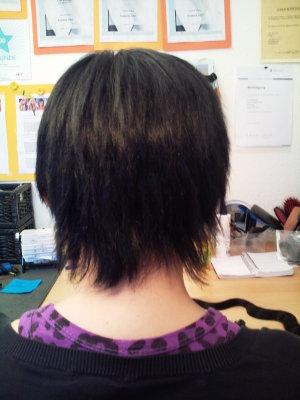 Haarverlängerung kurze Haare