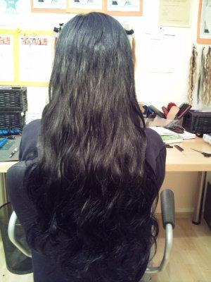 Haarverlängerung kurze Haare foto nachher