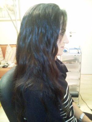 Bob friseur Haare verlängert
