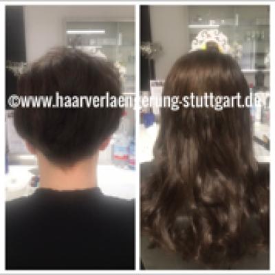 Haarverlängerung bei kurze Haare