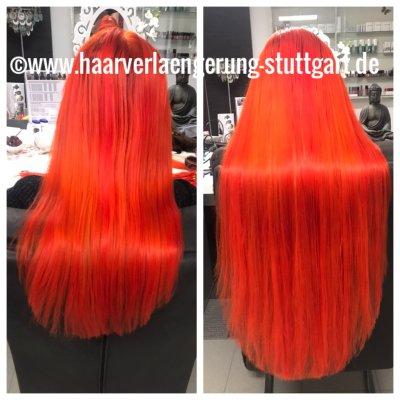 Haarverlängerung Echthaarextensions Stuttgart