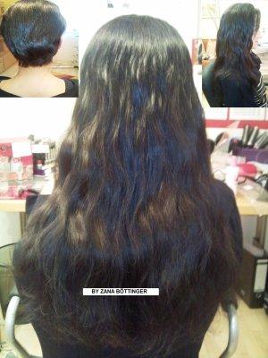 Haarverlängerung bei sehr kürzen Eigenhaar